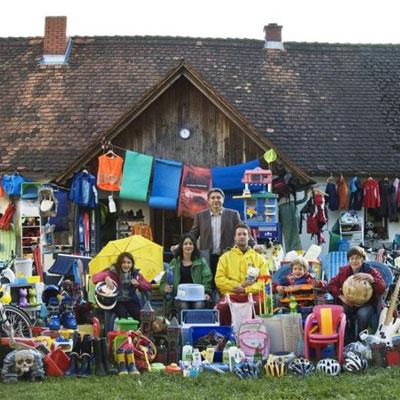 La famiglia austriaca che vive senza plastica