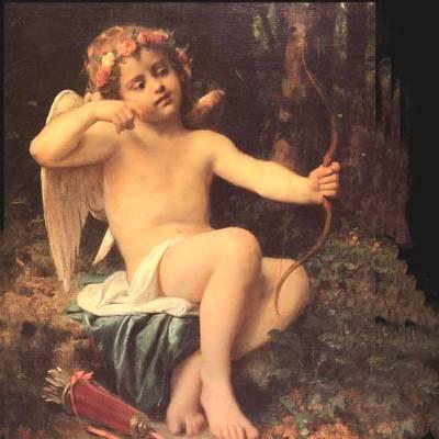 Cupido vince la tristezza