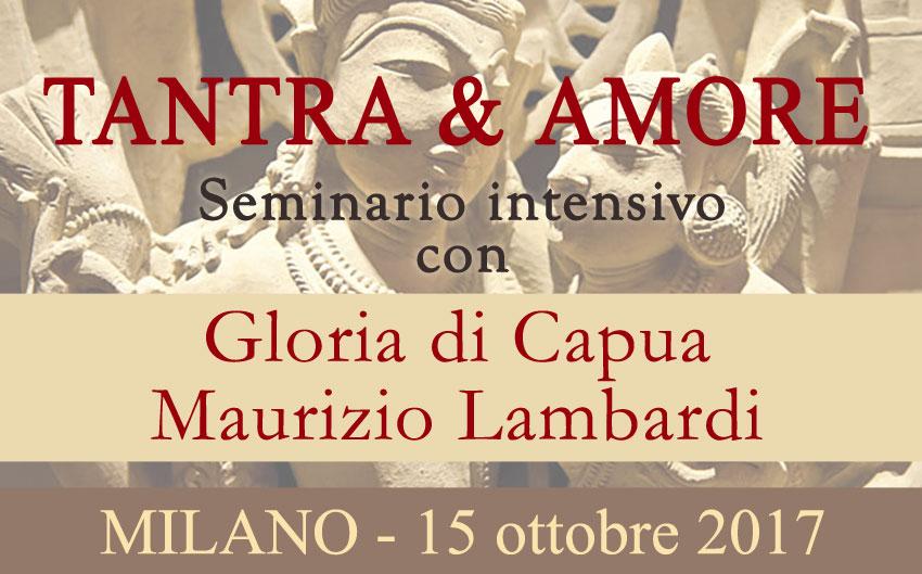 Seminario: Tantra & Amore con Gloria Di Capua e Maurizio Lambardi @ EFP Group