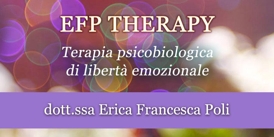 EFP Therapy – Terapia psicobiologica di libertà emozionale @ EFP Group - Milano, Corso Vercelli 56