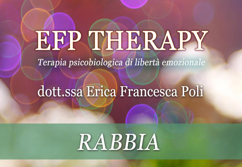 EFP Therapy Rabbia