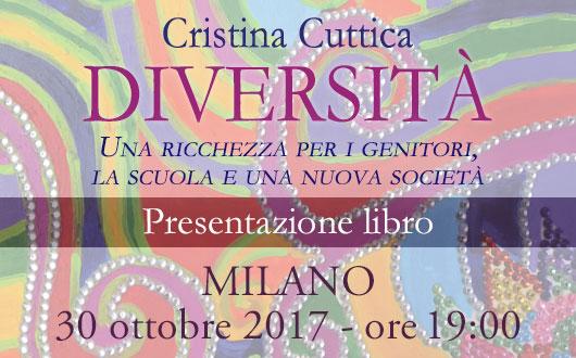 Presentazione libro: Diversità di Cristina Cuttica @ Anima Edizioni - Milano, Corso Vercelli 56