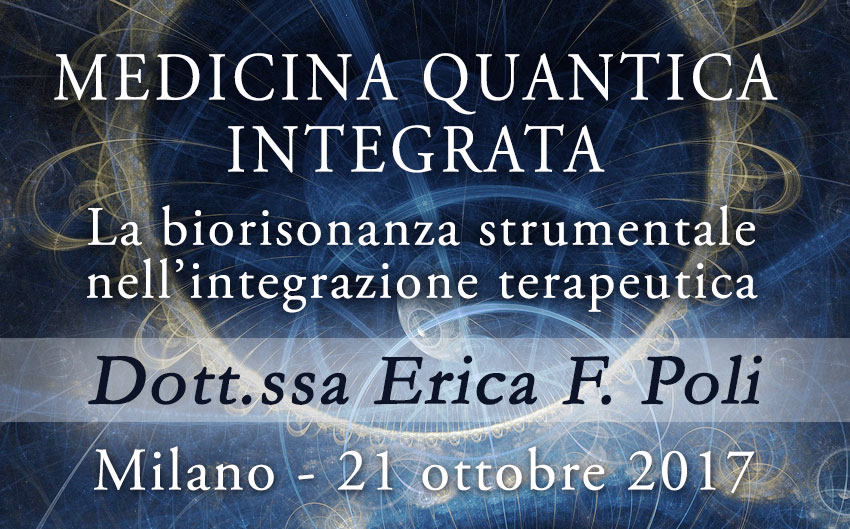 Conferenza: Medicina Quantica Integrata @ EFP Group - Milano, Corso Vercelli 56