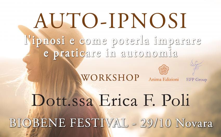 Workshop: Auto-Ipnosi @ BioBene Festival – Novara
