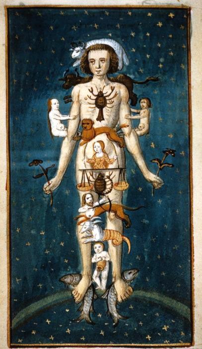 uomo zodiacale