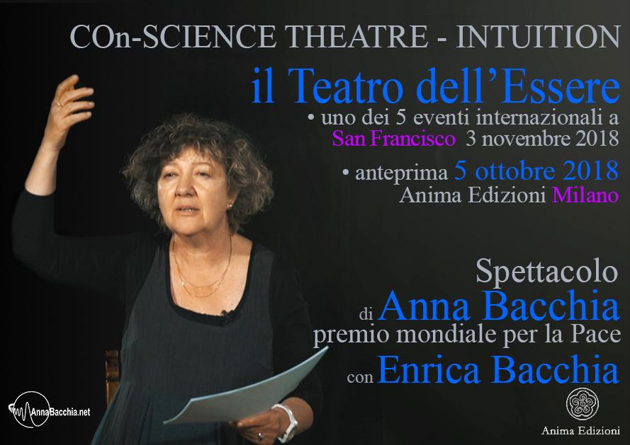 Spettacolo: COn-SCIENCE THEATRE - INTUITION @ Anima Edizioni – Milano, Corso Vercelli 56