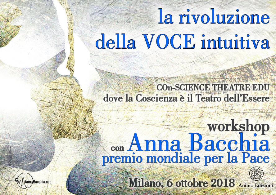 Workshop: La rivoluzione della VOCE intuitiva con Anna Bacchia @ Anima Edizioni – Corso Vercelli 56 – 20145 Milano