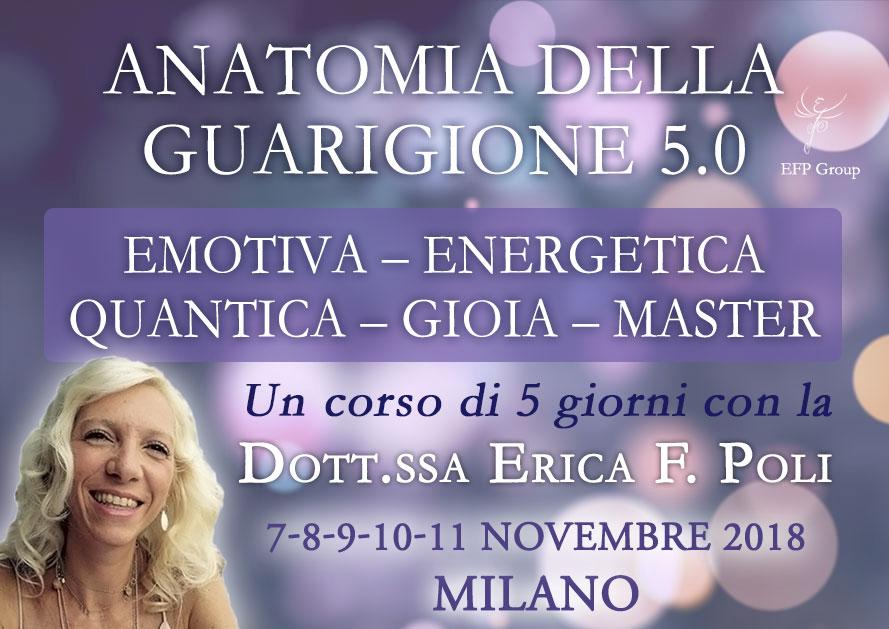 Anatomia della Guarigione Energetica 5.0 con Erica F. Poli @ EFP Group – Milano, Corso Vercelli 56