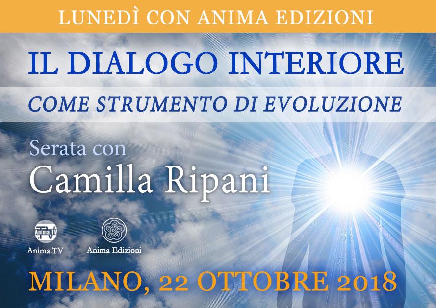 Serata: Il dialogo interiore con Camilla Ripani @ Anima Edizioni – Milano, Corso Vercelli 56