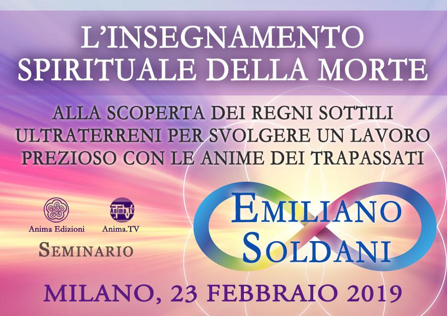 Seminario: L'insegnamento spirituale della Morte con Emiliano Soldani @ Anima Edizioni – Milano, Corso Vercelli 56