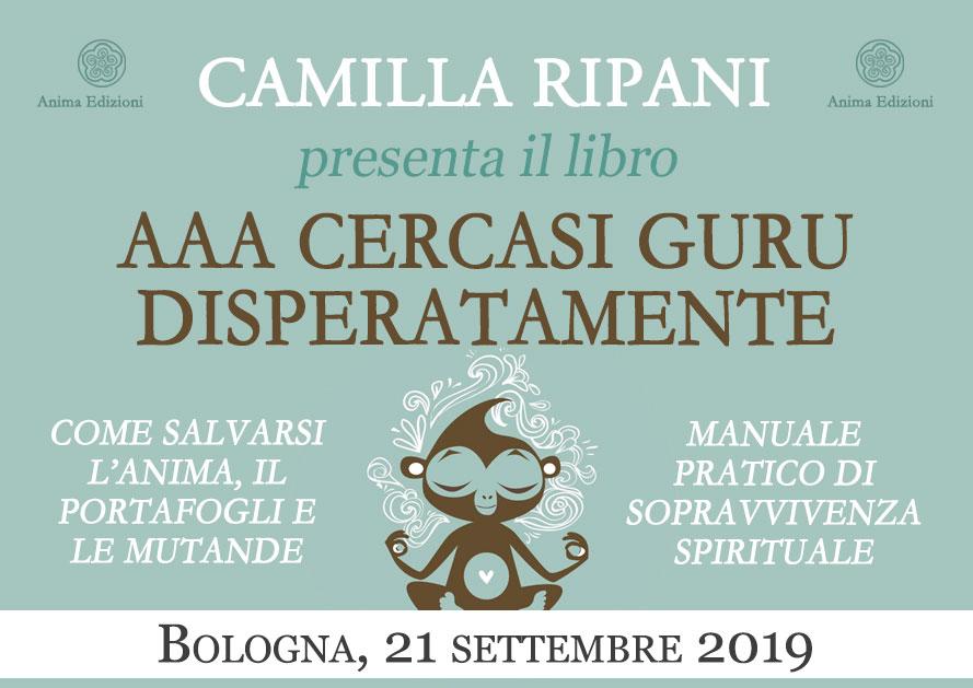 Presentazione libro: AAA cercasi guru disperatamente di Camilla Ripani @ Punto di Svolta – Bologna, Via A. Stoppato 1H