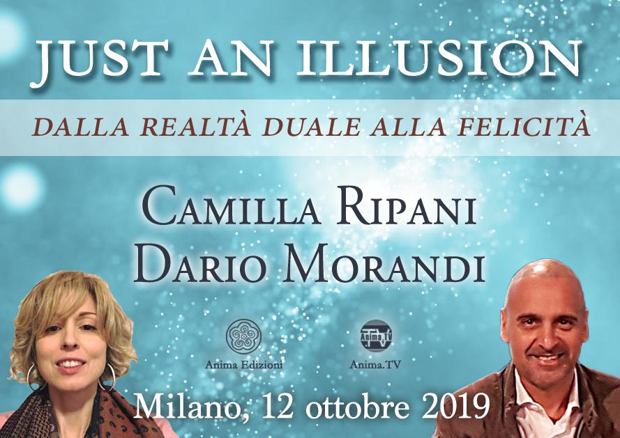 Seminario: Just an illusion con Camilla Ripani e Dario Morandi @ Anima Edizioni – Milano, Corso Vercelli 56