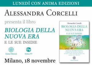 Presentazione libro: Biologia della Nuova Era di Alessandra Corcelli