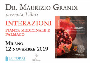 Presentazione libro: Interazioni pianta medicinale e farmaco