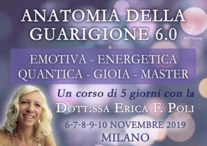Corso: Anatomia della Guarigione Emotiva 7.0 con Erica F. Poli (Live + Diretta streaming) @ Centro Anima – Corso Magenta, 83