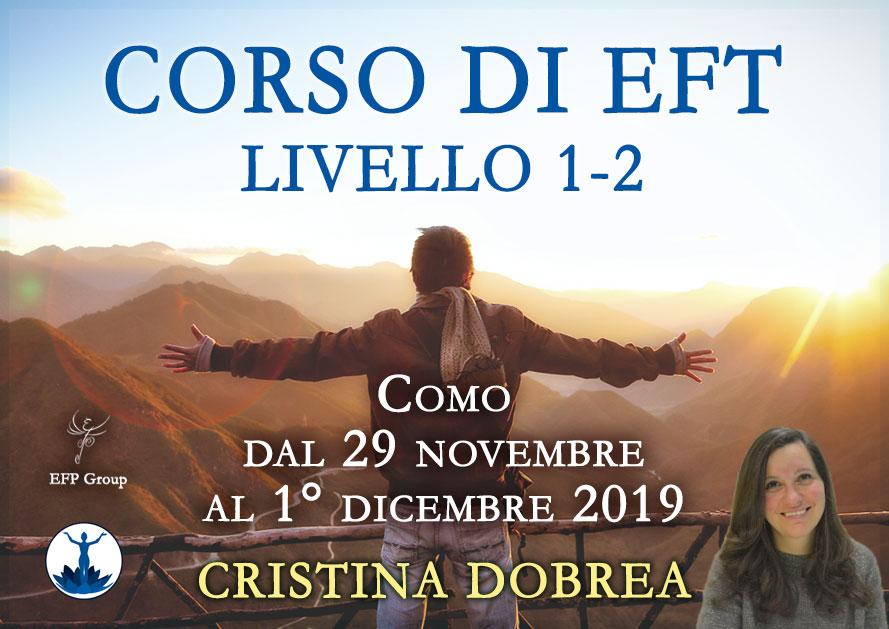 Corso di EFT – Livelli 1 e 2 con Cristina Dobrea @ Via A. Diaz, 58 – Como – c/o Spazio Diaz
