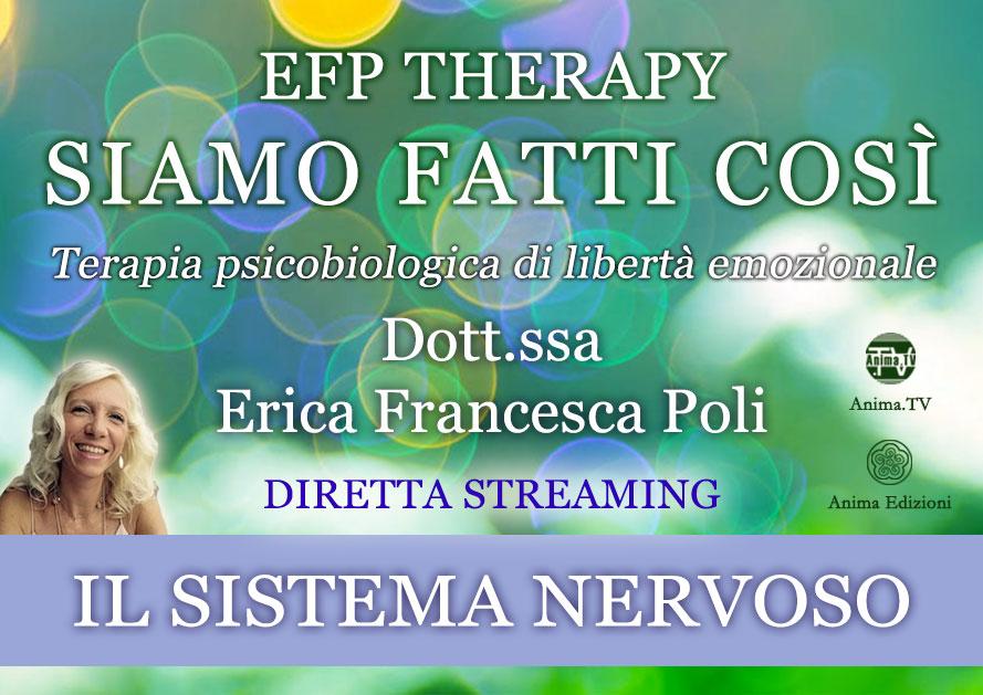 """EFP Therapy """"Siamo fatti così"""" con Erica F. Poli – Diretta Streaming @ Diretta streaming"""