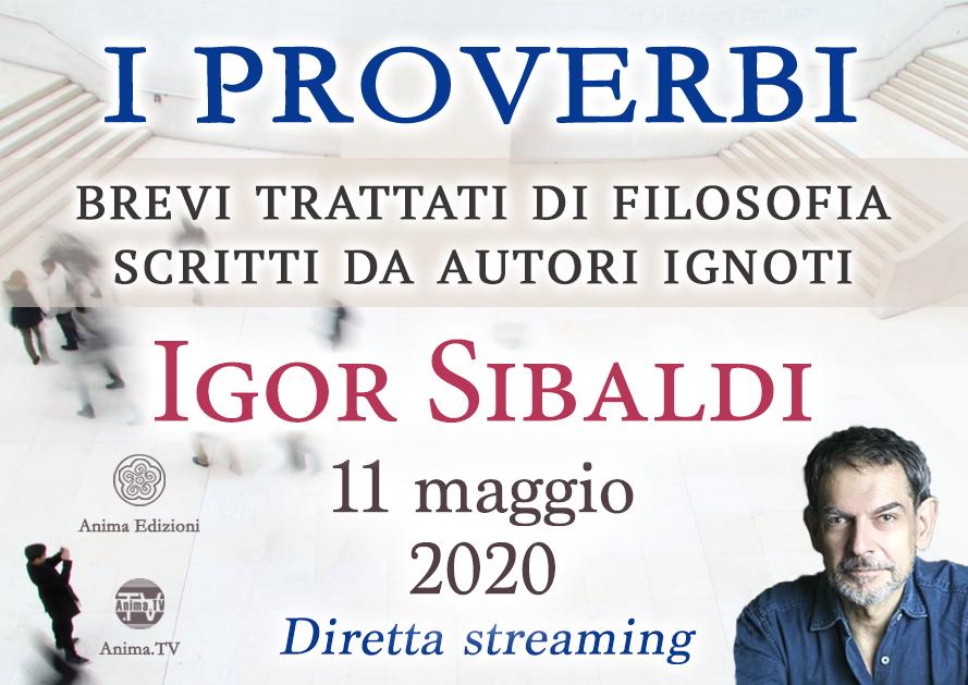 Incontri: I proverbi con Igor Sibaldi – Diretta streaming @ Diretta streaming