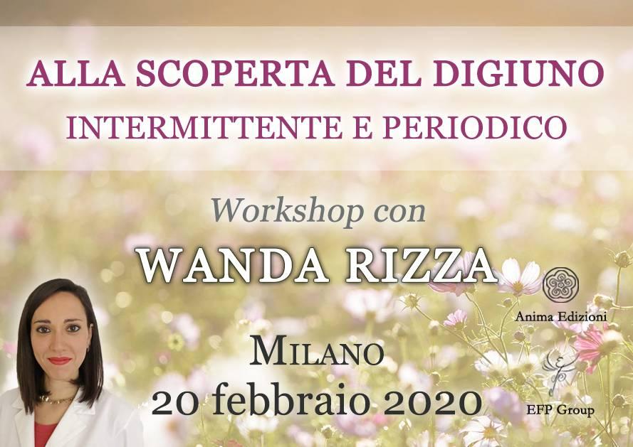 Workshop: Alla scoperta del digiuno con Wanda Rizza @ EFP Group – Milano, Corso Vercelli 56