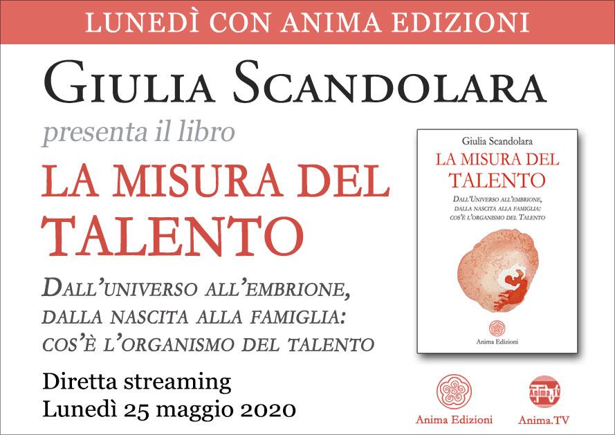 Presentazione libro: La misura del talento di Giulia Scandolara – Diretta streaming @ Diretta streaming