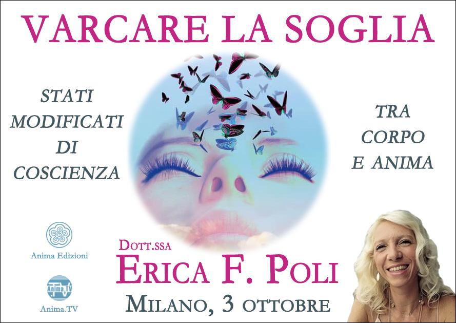 Seminario: Varcare la soglia con Erica F. Poli (Live + diretta streaming) @ Anima – Corso Magenta, 83