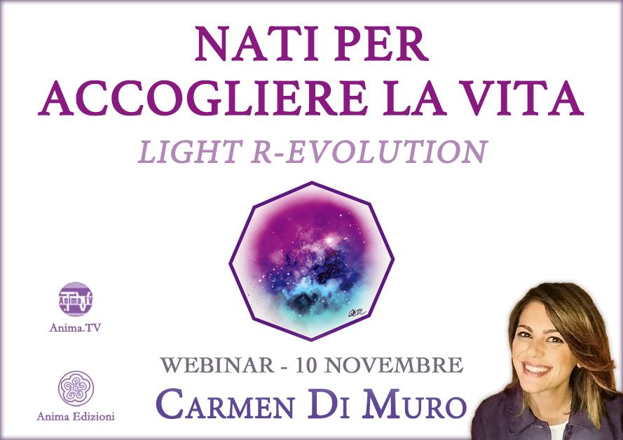Diretta streaming: Nati per accogliere la vita con Carmen Di Muro @ Diretta streaming
