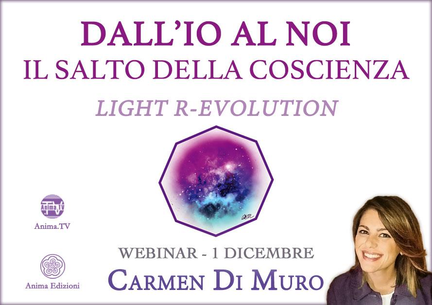 Diretta streaming: Dall'io al noi con Carmen Di Muro @ Diretta streaming