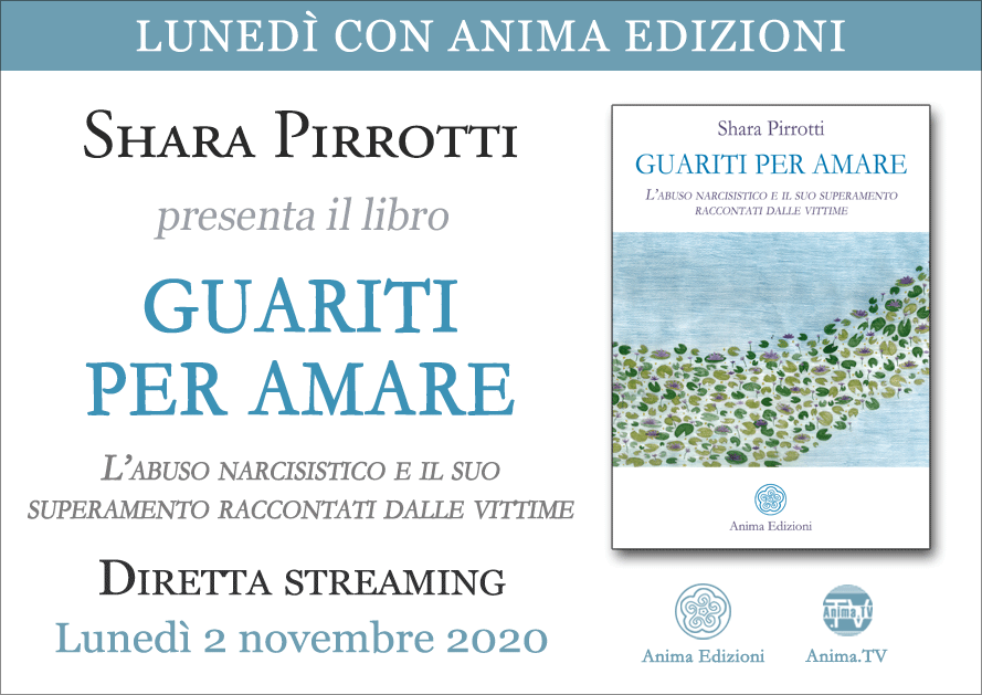 Diretta streaming: Guariti per amare di Shara Pirrotti @ Evento online