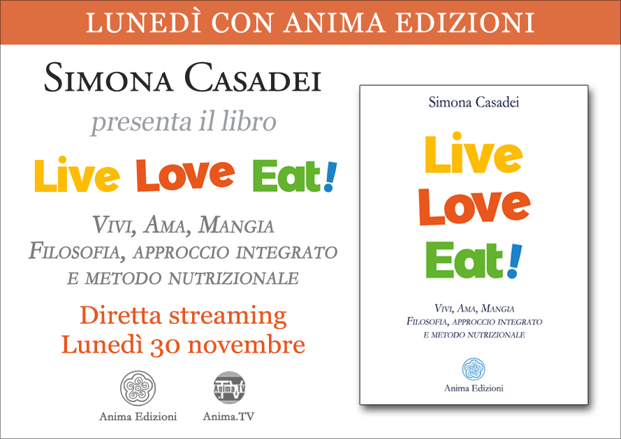 Diretta streaming: Live Love Eat! di Simona Casadei @ Diretta streaming