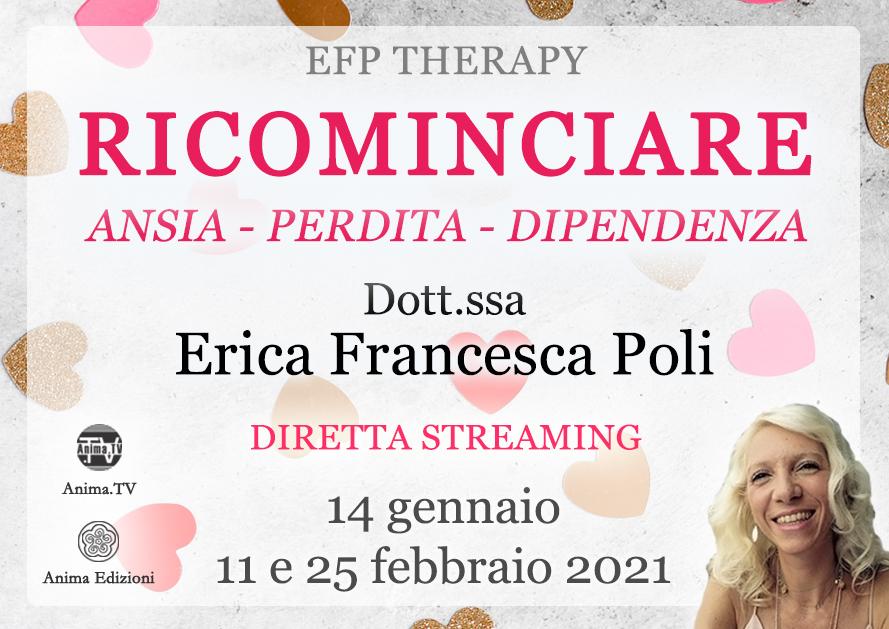 Ricominciare – Diretta streaming con Erica F. Poli @ Diretta streaming