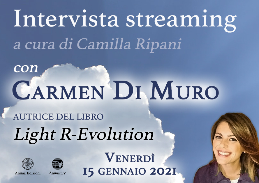 Intervista streaming con Carmen Di Muro @ Diretta streaming