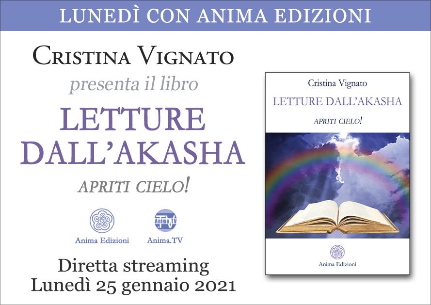 Letture dall'Akasha – Diretta streaming con Cristina Vignato @ Diretta streaming