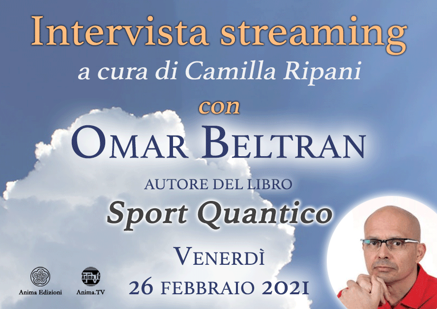 Intervista streaming con Omar Beltran @ Diretta streaming