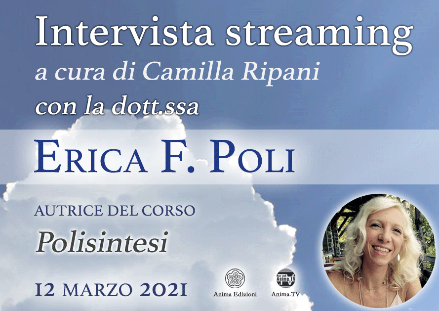 Intervista streaming con la dott.ssa Erica F. Poli @ Diretta streaming