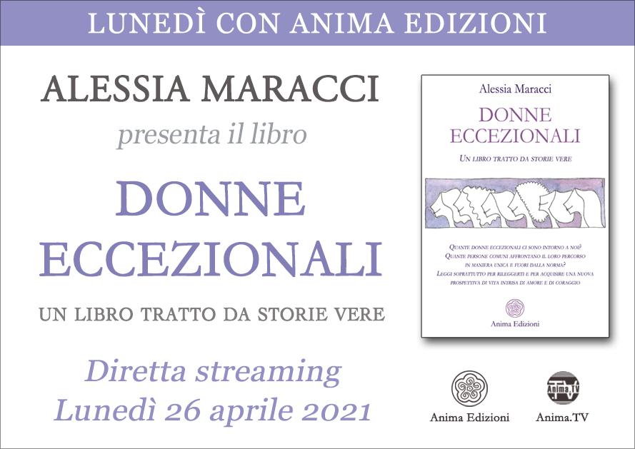 Donne Eccezionali – Diretta streaming con Alessia Maracci @ Diretta streaming