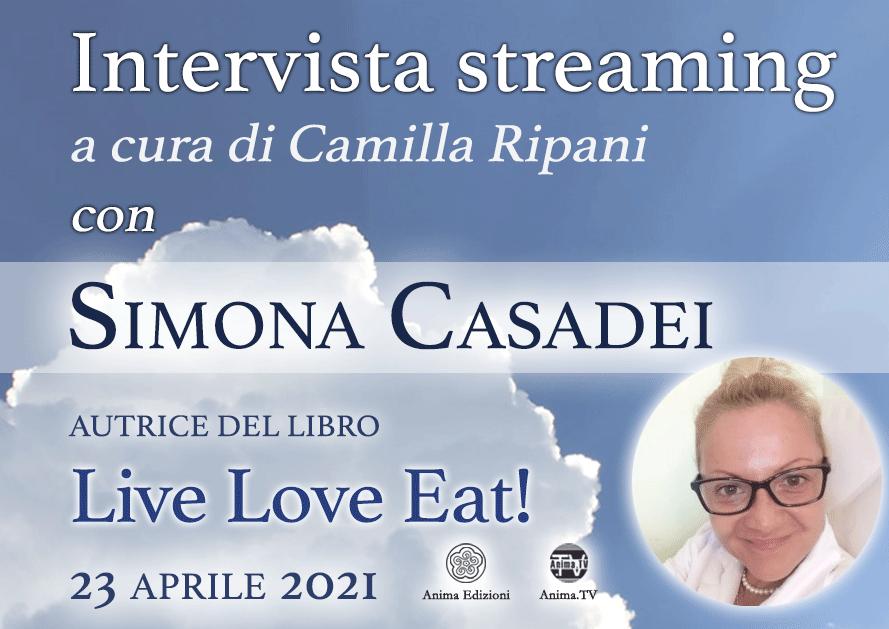 Intervista streaming con Simona Casadei @ Diretta streaming
