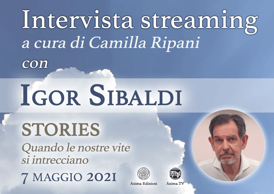 Intervista streaming con Igor Sibaldi – Stories @ Diretta streaming