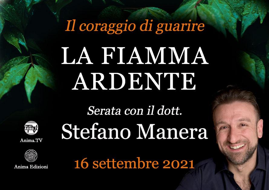 La fiamma ardente – Serata con Stefano Manera (Diretta streaming) @ Diretta streaming