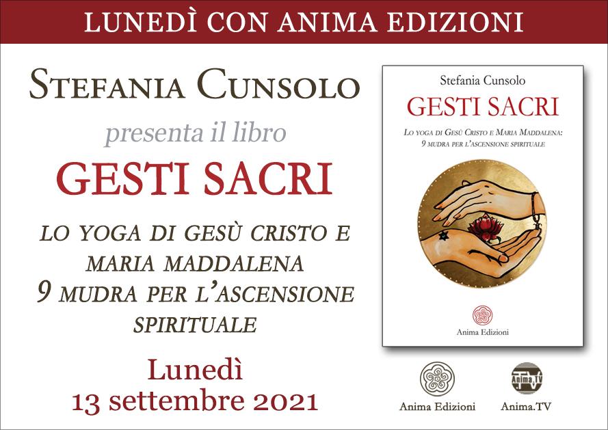 Gesti sacri – Presentazione libro con Stefania Cunsolo (Diretta streaming) @ Diretta streaming