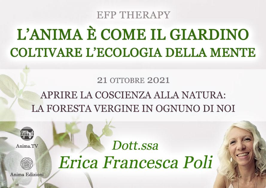 L'anima è come il giardino – Serata con Erica F. Poli (Diretta streaming) @ Diretta streaming