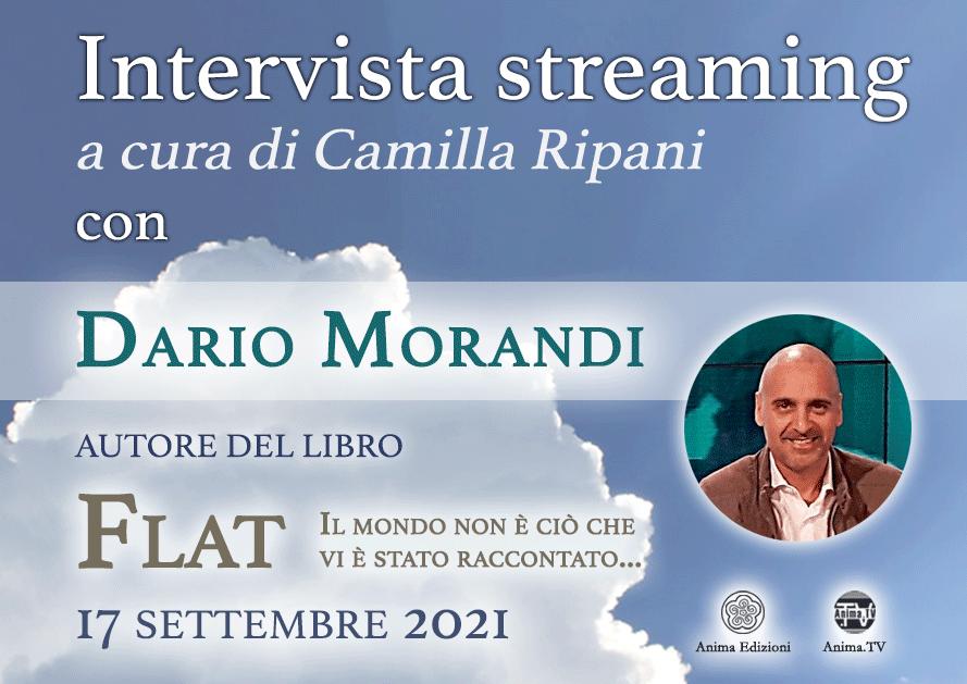 Intervista streaming con Dario Morandi – FLAT @ Diretta streaming