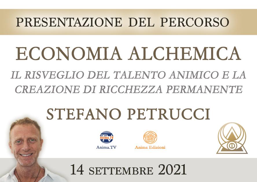 """Presentazione del percorso """"Economia Alchemica"""" con Stefano Petrucci (Diretta streaming) @ Diretta streaming"""