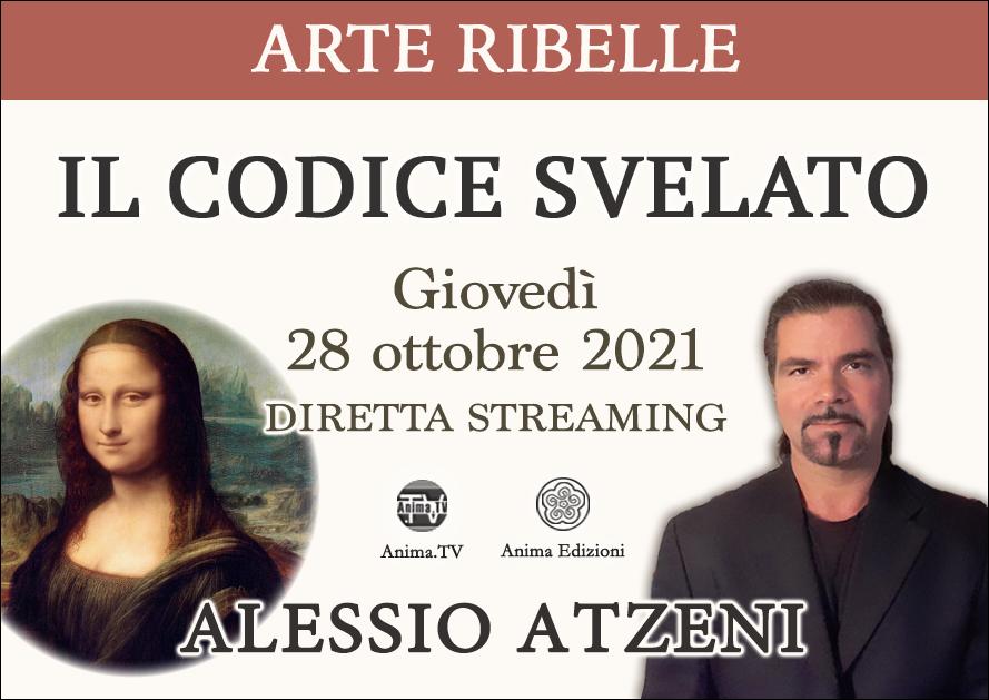 Arte Ribelle: Il codice svelato – Workshop con Alessio Atzeni (Diretta streaming) @ Diretta streaming